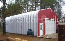 Durospan Steel 30x48x15 Metal Garage Shop Diy Home Building Kit Open Ends Direct