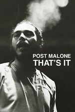 Post Malone White Iverson That's It poster 24x36 New Free Shipping