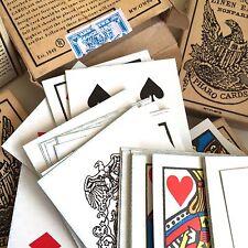 Faro Pharo Poker Playing Cards Old West Deck Sealed Cowboy Civil War Replica
