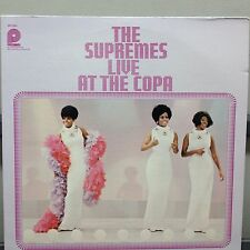 "The Supremes Live At The Copa 12"" LP Pickwick SPC-3541 Soul 1976 Near Mint"