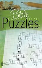 Vision Bible Crossword Puzzles Number One by Frieda Thiessen (2013, Paperback)