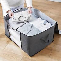 1-3 Pcs Under Bed Comforter Storage Bag Clothes Bedding Closet Organizer