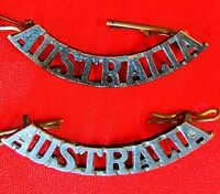 WW1 WW2 KOREAN WAR AUSTRALIAN ARMY *AUSTRALIA* SHOULDER BADGES ANZAC