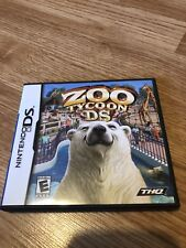 Zoo Tycoon DS (Nintendo DS, 2005) Tested & Works VC2