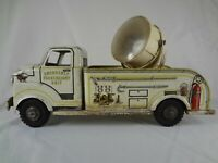 #265 Emergency Searchlight Truck – 1950s Vintage Marx Pressed Steel Toy Vehicle