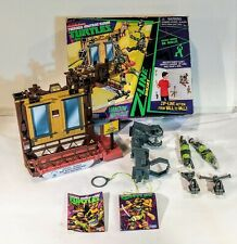 2013 Teenage Mutant Ninja Turtles Z-Line Window Wipeout Playset (Incomplete)
