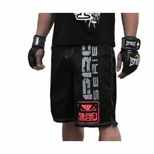 MMA Fighting Red black Sports fitness breathable Tiger Muay Thai boxing Shorts