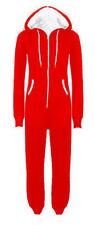 New Plus Size Unisex All In One Hooded Onesie One Piece Jumpsuits M-5XL