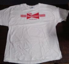 "Budweiser Lager Beer T-Shirt X Large ""Vintage"", New in Sealed Bag"