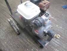 "Water Pump Honda GX120 Engine With 2"" Daishin SCR-50 Pump And Trolley"