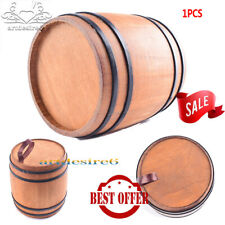 "1/6 Scale WW2 Soldier Wooden Wine Barrel DIY Scenery Accessories for 12"" Figure"