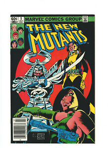 New Mutants #5 VF 8.0 Newsstand Marvel 1983 Bronze Age Silver Samurai & Viper
