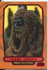Star Wars Galactic Files Red Parallel #87 Passel Argente