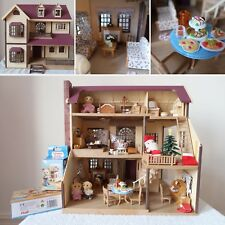 Sylvanian Families Oakwood House On The Hill Calico Critters HUGE BUNDLE Flair