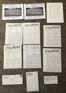 RARE 1974 WFL Lot Portland Storm Media Info,Inaugural Game Certificates,Releases