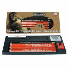 General 13-piece Charcoal Pencil Kit G15