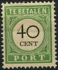 Curacao 1892-1898 SG#D60A 40c Black & Green Postage Due Type I MH #E13756