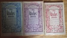 Witches' Almanac - collection of 18