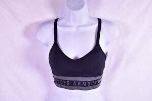 Women's Under Armour Seamless Longline Sports Bra, Black