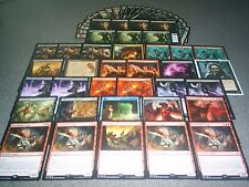 MTG Magic FLAMEBLADE ANGEL DECK Ob Nixilis, Reignited Infect Custom RARE LOT