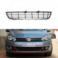 Chrome Strip Front Bumper Lower Center Grille Cover Grill For Golf MK6 2009-2013