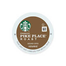 50 K Cups - Starbucks Pike's Place Blend - Loose K Cups - 2.0 Compatible Coffee