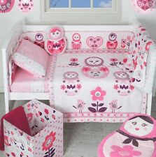 LIVING TEXTILES ADELE 6 PIECE COT QUILT SET. BRAND NEW.