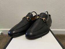 Gucci Brixton Horsebit Leather Loafers | Size 5