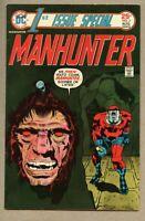 First Issue Special #5-1975 fn 6.0 Kirby Manhunter 1st app Manhunters Mark Shaw