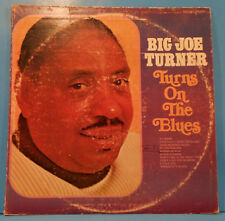 BIG JOE TURNER TURNS ON THE BLUES VINYL LP 1970 UNITED GREAT CONDITION! VG+/VG!!