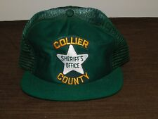 POLICE BASEBALL CAP HAT SHERIFF'S OFFICE COLLIER  COUNTY  NEW