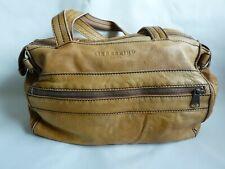 Liebeskind vintage  Damen Tasche Handtasche Leder gelb braun Umhängetasche