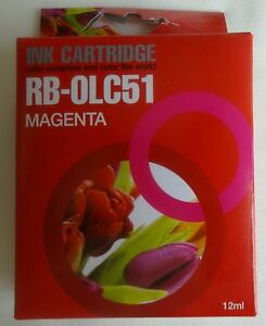 RB-0LC51 12ml magenta ink cartridge NIEUW NEW BROTHER DCP MFC FAX