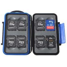 Quality Memory Card Hard Case Holder for 8 x SD Cards Waterproof Anti-Shock Drop