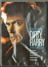 Clint Eastwood Dirty Harry Collection 5-Film DVD Set BRAND NEW