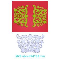 2pcs Heart Butterfly Stencils Scrapbook Embossing DIY Cutting Die Card Gift Deco