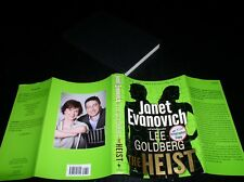 *SIGNED* The Heist by Lee Goldberg and Janet Evanovich (2013, Hardcover)~1ST/1ST