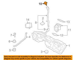 BMW OEM 07-18 X5 3.0L-L6 Fuel System-Fuel Filler Hose 16117222391