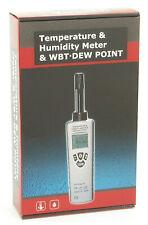 Cem Dt-321S Digital Humidity Temperature Dewpoint Wet Bulb Meter Moisture Tester