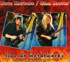 New: Glen Drover, Dave Martone: Live At Metalworks  Audio CD
