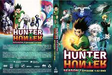 DVD ~ Hunter X Hunter Season 1 ( Episode 1-62 End ) English Dubbed