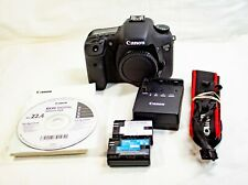 Canon EOS 7D 18.0 MP Digital SLR Camera - Black (Body Only) Low Shutter Count