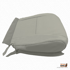 2011 Lexus RX350 Driver Bottom Replacement Perforated Leather Seat Cover Gray