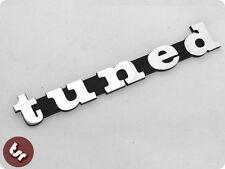 Billet CNC Legshield/Side Panel Badge/Emblem TUNED hotrod fits VESPA PX/LML/T5
