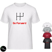 """Go Forward"" positive quote TEE no reverse gear T-Shirt for boys & girls"