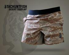Wrmfzy Tachuntfish Desert Tiger Tactical Athletic Shorts THF Camo Small
