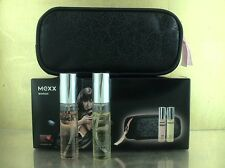 59,50€/100ml  Mexx Black woman 10ml EDT / Mexx woman 10ml  EDT + Kometiktasche