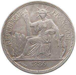 INDOCHINA PIASTRE 1886 #t93 031