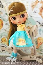 BHC Belle Ange dress set for Kenne Blythe doll - doll outfit - FN585