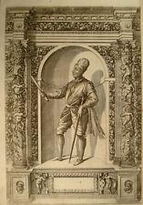 1603 Bartolomeo Colleoni Venezia Venice RAME Portrait di Custos dopo Fontana